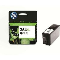 HP 364XL Black Ink Cartridge, Black