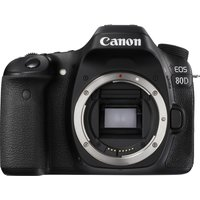 CANON EOS 80D DSLR Camera - Black, Body Only, Black