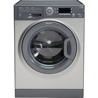 HOTPOINT  WDUD9640G Washer Dryer - Graphite, Graphite