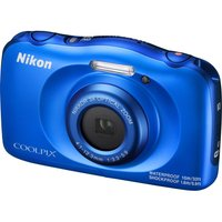 NIKON COOLPIX W100 Tough Compact Camera - Blue, Blue
