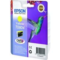 EPSON T0804 Hummingbird Yellow Ink Cartridge, Yellow