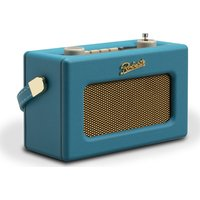 Roberts Revival Uno Retro Portable Clock Radio - Blue, Blue