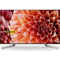 55 SONY BRAVIA KD55XF9005 Smart 4K Ultra HD HDR LED TV, Gold