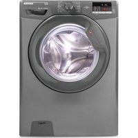 Hoover Link Dhl 1492dr3r Nfc 9 Kg 1400 Spin Washing Machine - Graphite, Graphite