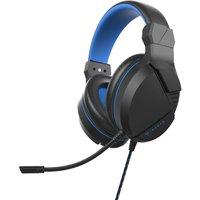 PIRANHA HP40 Gaming Headset - Black & Blue, Black