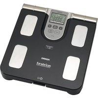 OMRON Karada Scan BF508 Electronic Bathroom Scales - Grey, Grey