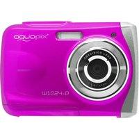 AQUAPIX PurpleSplash W1024 Compact Camera - Pink, Pink