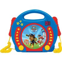 LEXIBOOK Paw Patrol CD Player with Microphones.