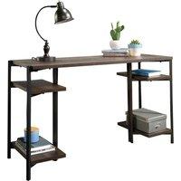TEKNIK 5424170 Bench Desk - Smoked Oak.