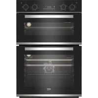 BEKO BBXDF25300X Electric Double Oven - Stainless Steel, Stainless Steel