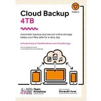 Knowhow Cloud Storage Computer Backup & Share Service - 4 TB