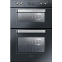 HOOVER HDO906NX Electric Double Oven - Black, Black