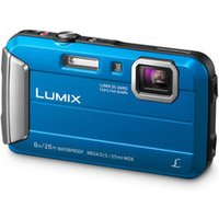 'Panasonic Lumix Dmc-ft30eb-a Tough Compact Camera - Blue