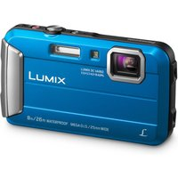 Panasonic Lumix DMC-FT30EB-A Tough Compact Camera - Blue, Blue