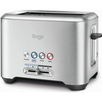 Buy SAGE by Heston Blumenthal A Bit More 2-Slice Toaster - Silver, Silver - Currys