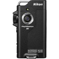 NIKON KeyMission 80 Action Camcorder - Black, Black