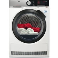 AEG AbsoluteCare T8DSC869C Heat Pump Tumble Dryer - White, White