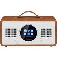 SANDSTROM SL-IBTB18 Portable DAB+/FM Smart Bluetooth Radio - Brown sale image