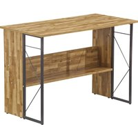 ALPHASON Rhodes AW3524 Desk - Walnut