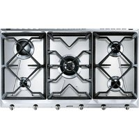 Smeg Cucina Srv596gh5 Gas Hob - Stainless Steel, Stainless Steel