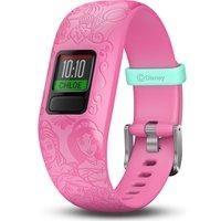 GARMIN vivofit jr 2 Kid's Activity Tracker - Pink Disney Princess, Adjustable Band, Pink