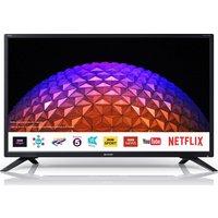 32 Sharp Lc-32hi5232kf Smart Led Tv, Gold