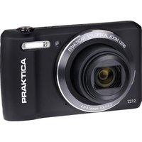 PRAKTICA Luxmedia Z212-BK Compact Camera - Black, Black.