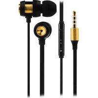 VOLKANO Alloy VK-1007-GD Earphones - Gold & Black, Gold