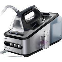 BRAUN CareStyle 7 Pro IS7156BK Steam Generator Iron - Black & Silver, Braun