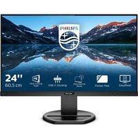 "PHILIPS 243B9 Full HD 24"" LCD Monitor - Black, Black"