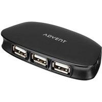 ADVENT HB212 4-port USB 2.0 Hub
