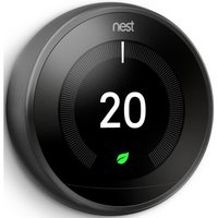 NEST Learning Thermostat   3rd Generation  Black  Black