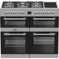 LEISURE Cuisinemaster CS100F520X Dual Fuel Range Cooker - Stainless Steel, Stainless Steel