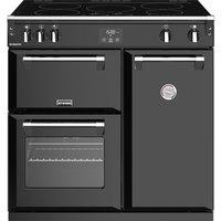 STOVES Richmond 900Ei 90 cm Electric Induction Range Cooker - Black, Black