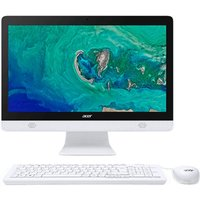 "ACER Aspire C20-830 19.5"" All-in-One PC - Intelu0026regCeleron, 1 TB HDD, White, White"