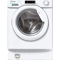CANDY CBW 48D2E 8 kg 1400 Spin Integrated Washing Machine