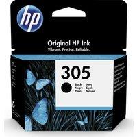 HP 305 Black Ink Cartridge, Black