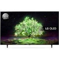 "55"" LG OLED55A16LA  Smart 4K Ultra HD HDR OLED TV with Google Assistant & Amazon Alexa, Blue"
