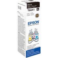 EPSON T6641 Black Ecotank Ink Bottle - 70 ml, Black