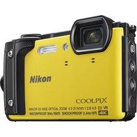 NIKON COOLPIX W300 Tough Compact Camera - Yellow, Yellow