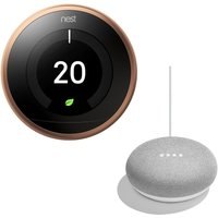 NEST Learning Thermostat & Home Mini Bundle