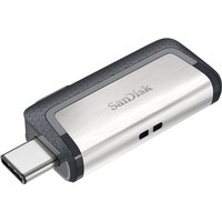SANDISK USB Type-C Memory Stick - 32 GB, Grey, Grey