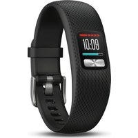 GARMIN Vivofit 4 Fitness Tracker - Black, Small/Medium, Black
