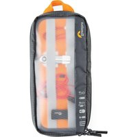 LOWEPRO GearUp Pouch Medium Laptop Accessory Case - Grey & Orange, Grey