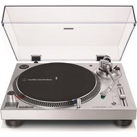 AUDIO TECHNICA AT-LP120XUSB Direct Drive Turntable - Silver, Silver