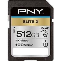 Elite-X Class 10 SDXC Memory Card - 512 GB