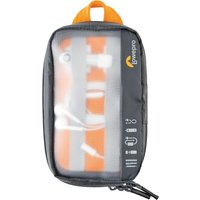 LOWEPRO GearUp Pouch Accessory Case - Mini, Grey & Orange, Grey