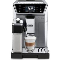 DELONGHI Prima Donna Class ECAM550.75.MS Smart Bean to Cup Coffee Machine - Silver, Silver
