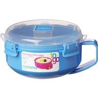 Sistema Oatmeal/porridge To Go Round 0.85-litre Box, Pink
