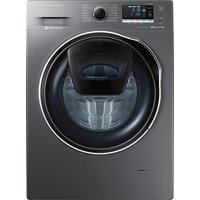 SAMSUNG AddWash WW80K6414QX Washing Machine - Graphite, Graphite